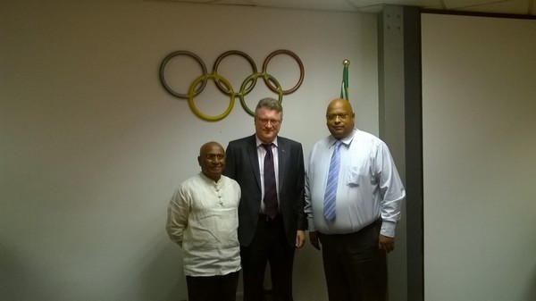 Belarus and South African National Olympic Committees discuss forming cooperation agreement