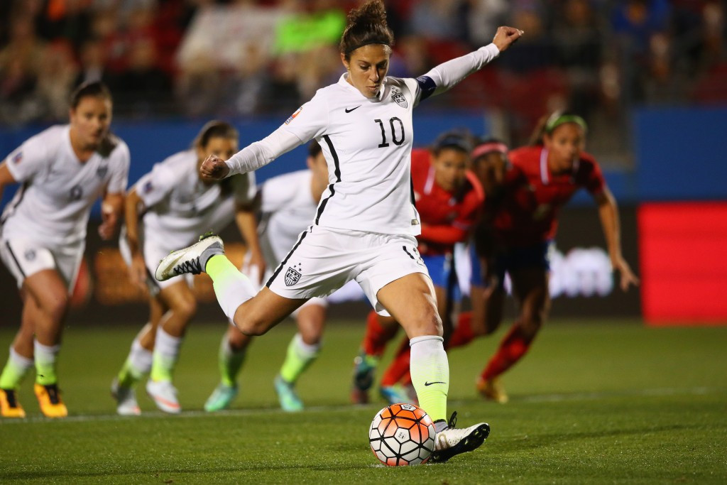 London 2012 champions United States thrash Costa Rica at CONCACAF Women's Olympic Qualifier