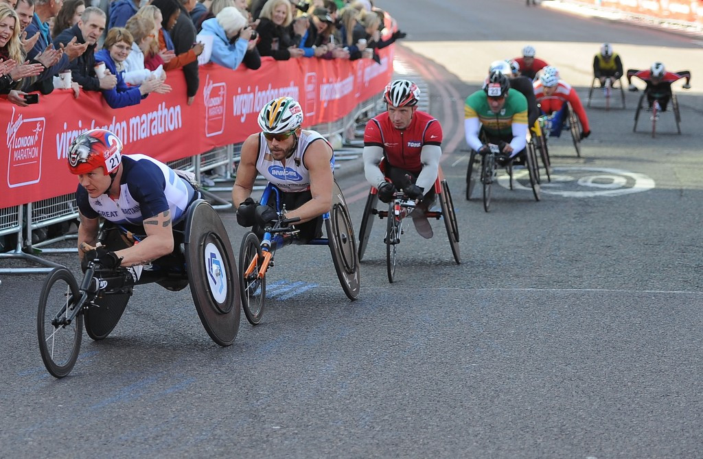 Six-time champion Weir to lead British Paralympic team at London Marathon