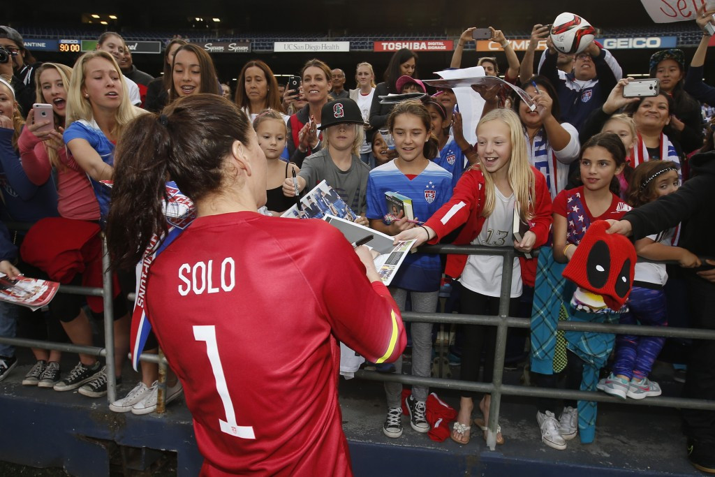 Hope Solo has already expressed fears about the Zika virus