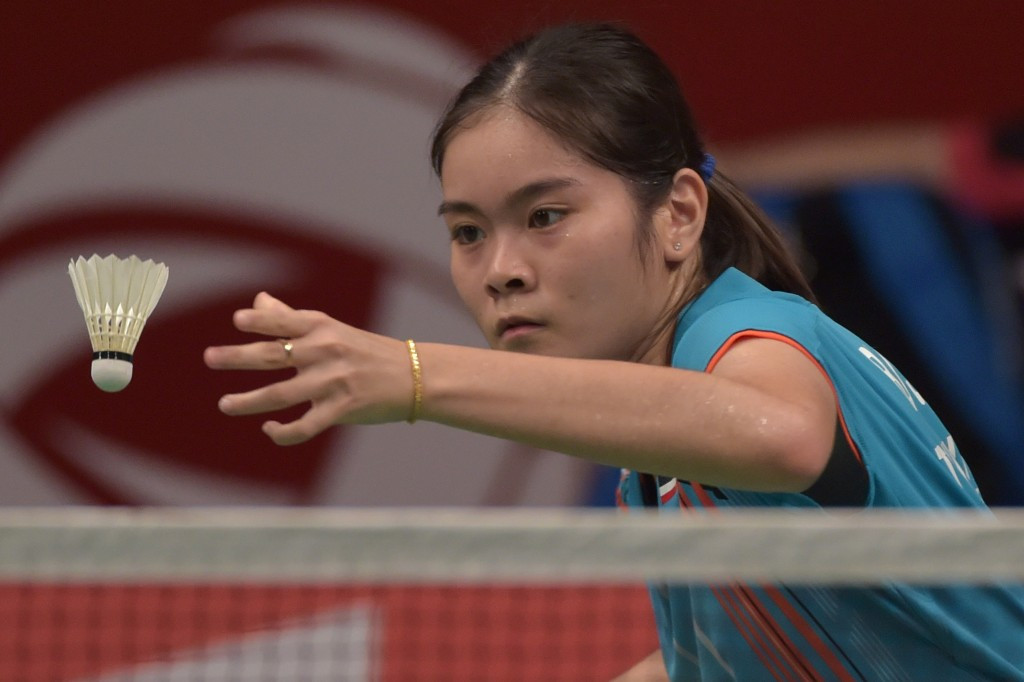 Busanan Ongbumrungpan is one of two home hopes left in the women's tournament