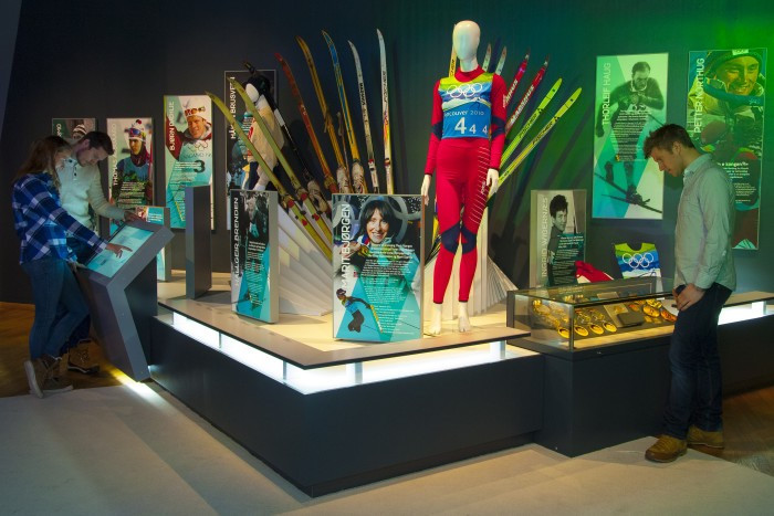 The museum celebrates the Olympic history of Norway and was officially opened today