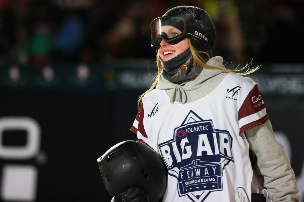 Late entry Marino triumphs in front of home crowd at FIS Snowboard Freestyle World Cup Big Air event