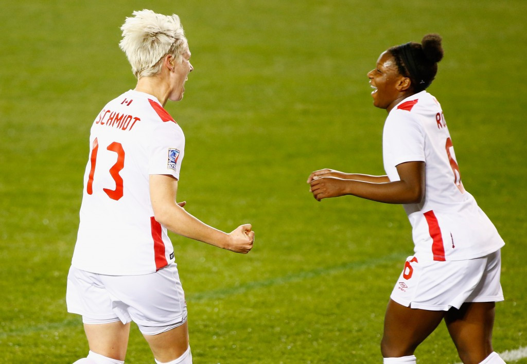 London 2012 bronze medallists Canada inflict heavy defeat on Guyana at CONCACAF Women's Olympic Qualifier