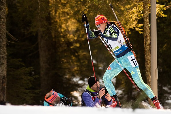 Ukrainian biathlete suspended after testing positive for drug only added to banned list at start of year