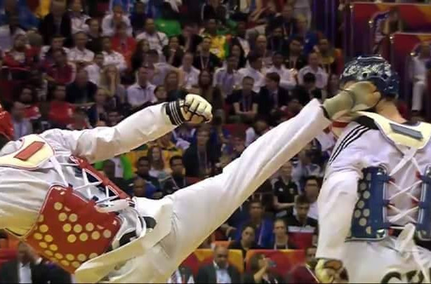 Imperious Iranian powers to clinical final title to close World Taekwondo Championships
