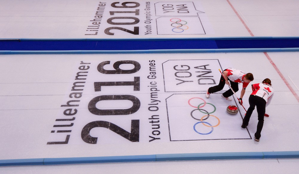 Lillehammer is set to host the 2021 European Curling Championships ©Getty Images