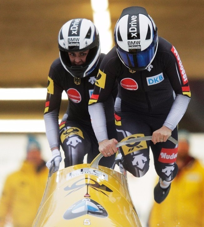 German pair establish commanding lead on opening day of IBSF World Championships