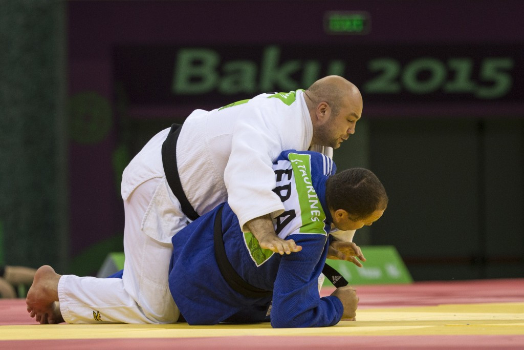 Blind judo was the only Paralympic sport on the programme at Baku 2015
