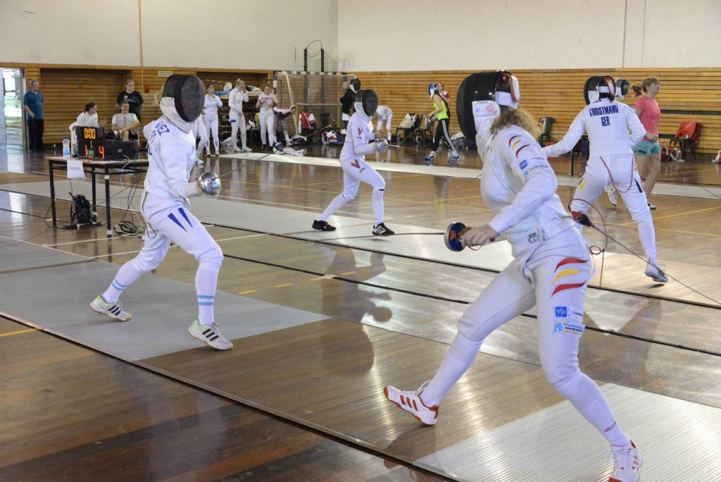 The women's épée Fencing World Cup in Buenos Aires got under way today ©FIE/Facebook