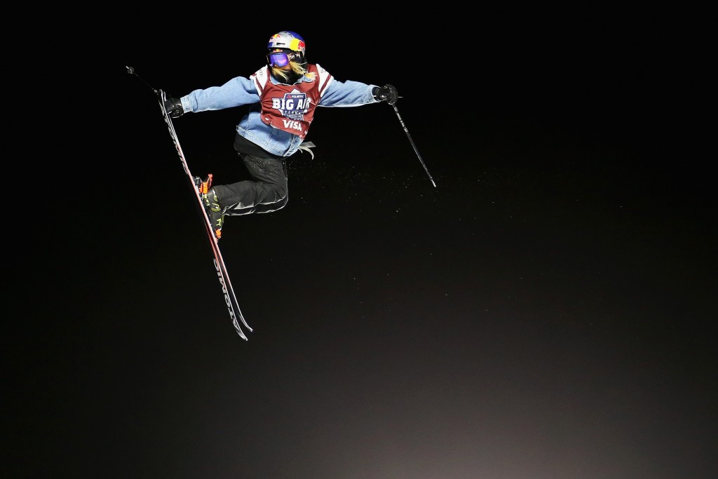 Zimmermann tops women's podium at skiing's first Big Air World Cup