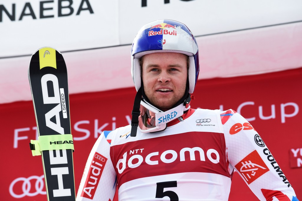 France's Alexis Pinturault earned giant slalom victory in Yuzawa Naeba ©Getty Images