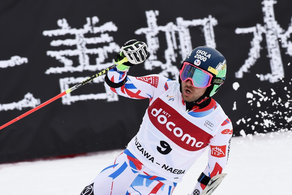Mathieu Faivre ensured a French one-two in the giant slalom competition