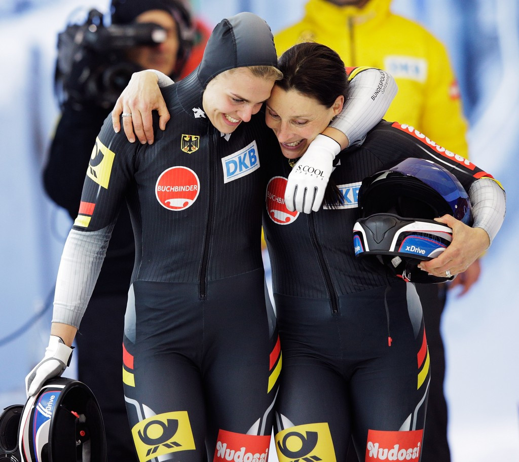 German pair Schneiderheinze and Drazek add IBSF World Championships gold medal to European title