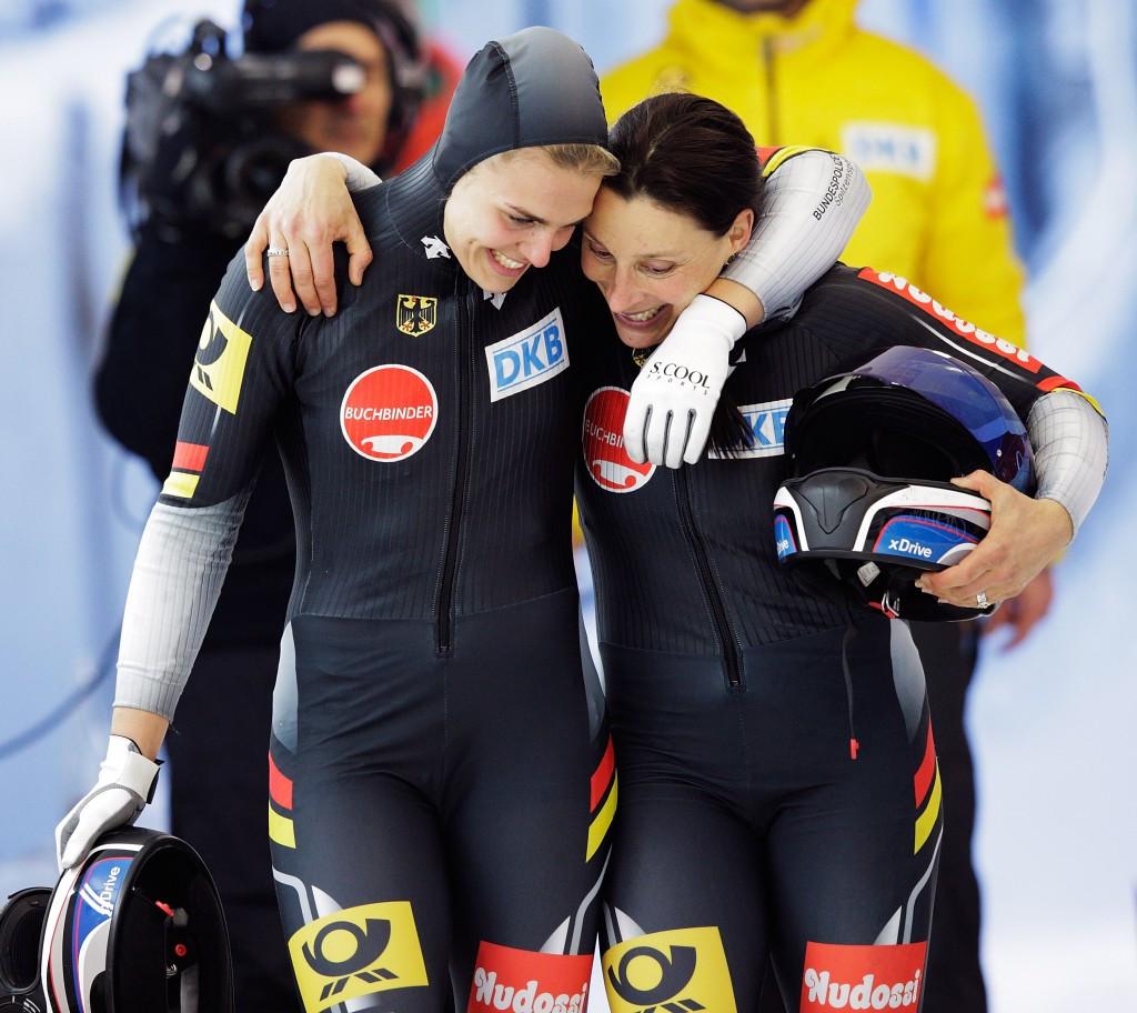 German pair Schneiderheinze and Drazek add IBSF World Championships gold medal to European title