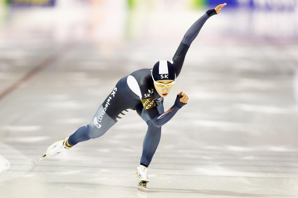 Lee regains women's 500m crown at ISU World Single Distances Speed Skating Championships