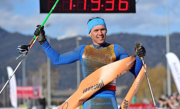 Andreev earns fifth consecutive ITU Winter World Championship men's title in Zeltweg
