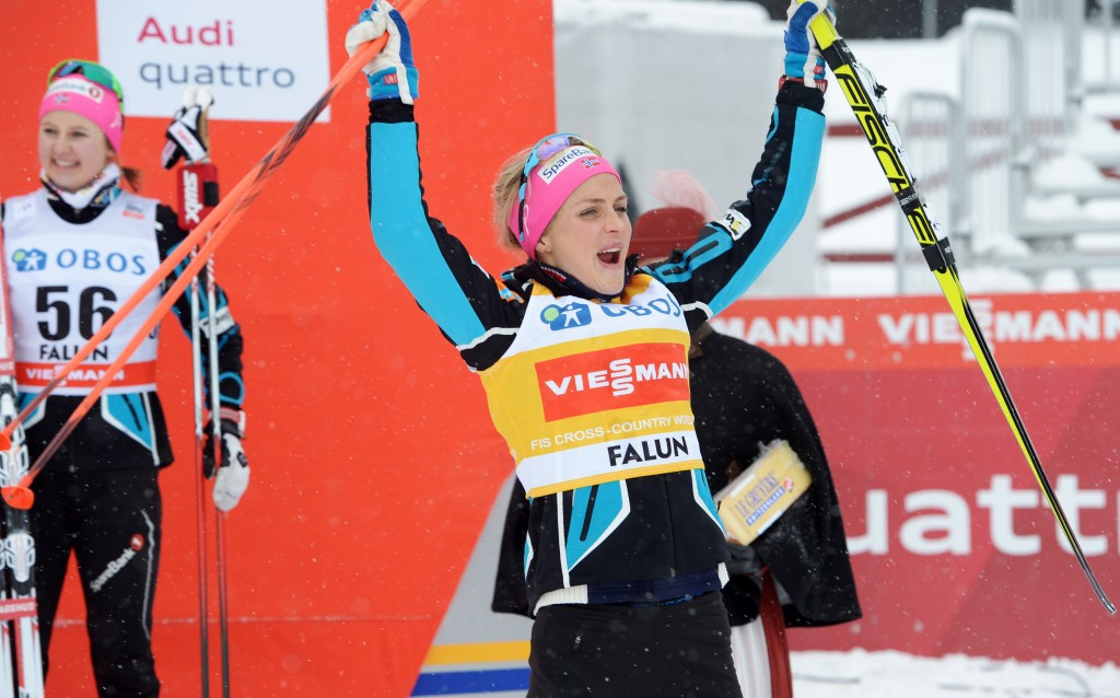 Lucky 13 for Johaung as she wins again at FIS Cross-Country World Cup in Falun