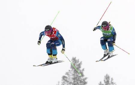 Holmlund delivers home success at Ski Cross World Cup in Idre Fjall
