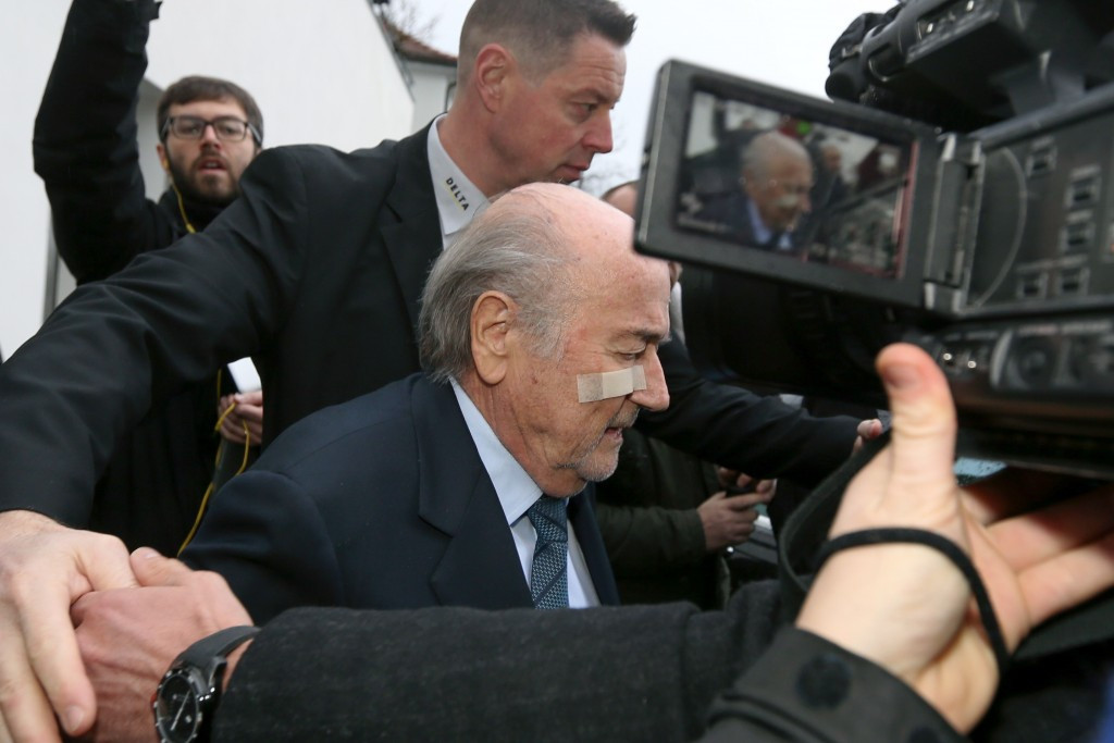 Sepp Blatter's appeal will be heard on February 16 ©Getty Images