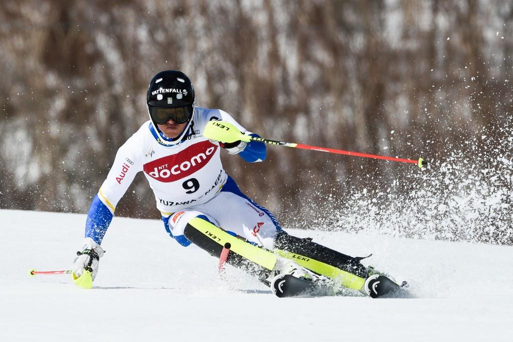 André Myhrer earned a silver medal for Sweden