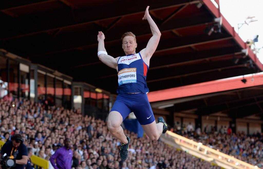 Greg Rutherford is due to face Markus Rehm at this month's Glasgow Indoor Grand Prix