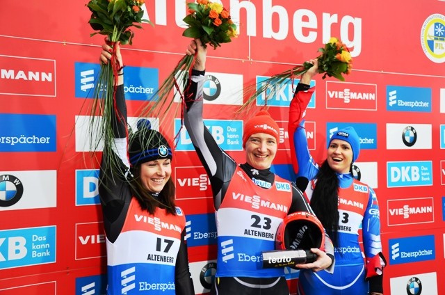 Hüfner completes haul of major luge titles with European Championship success