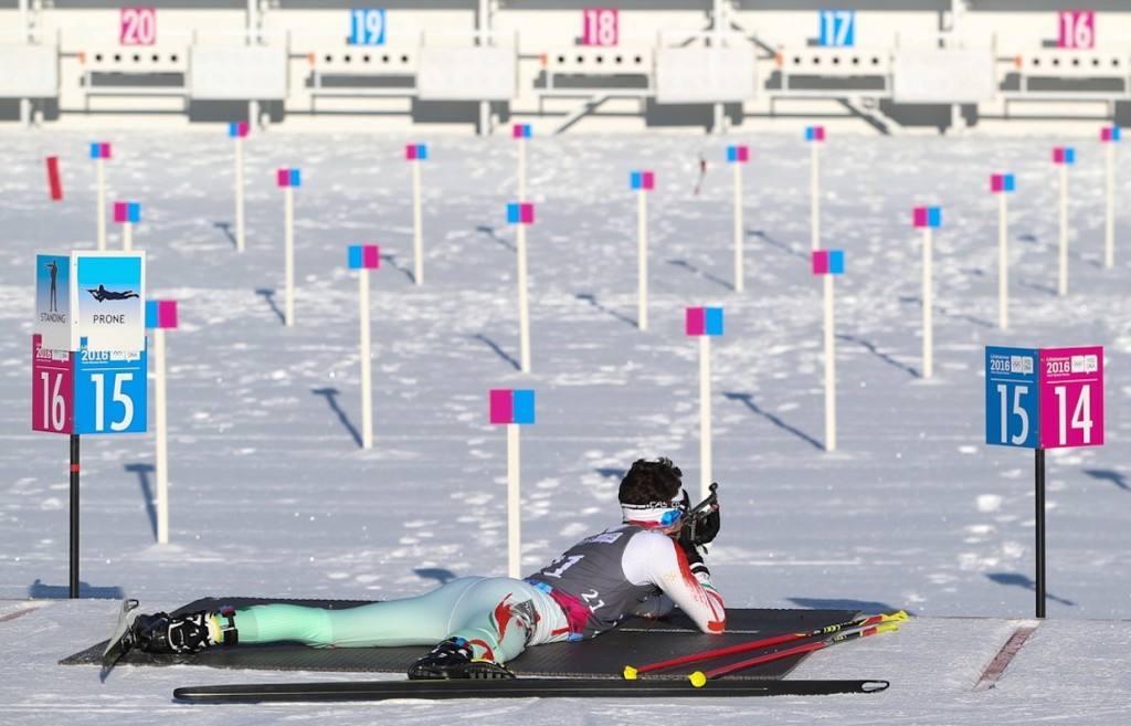 France and German biathletes ended on top after the first day of biathlon action ©Getty Images