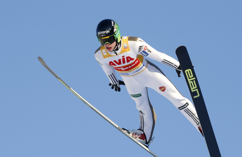Peter Prevc secured his second victory of the weekend in Vikersund