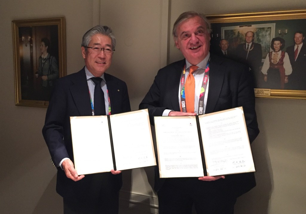 Japanese and Dutch Olympic Committees sign partnership agreement