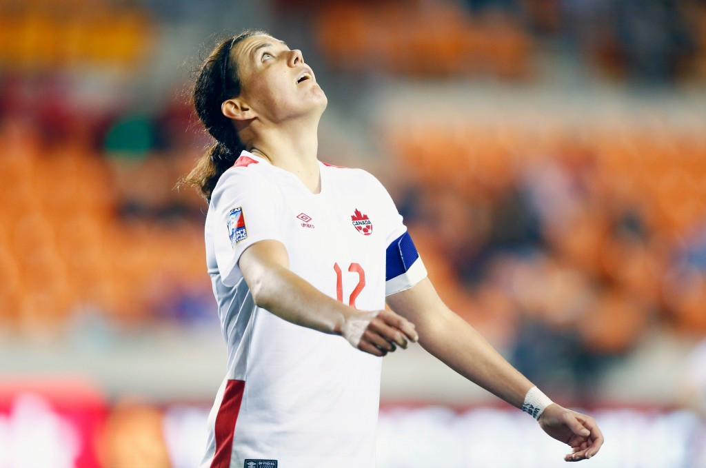 Olympic bronze medallists Canada one game away from Rio 2016 after Sinclair's landmark goal