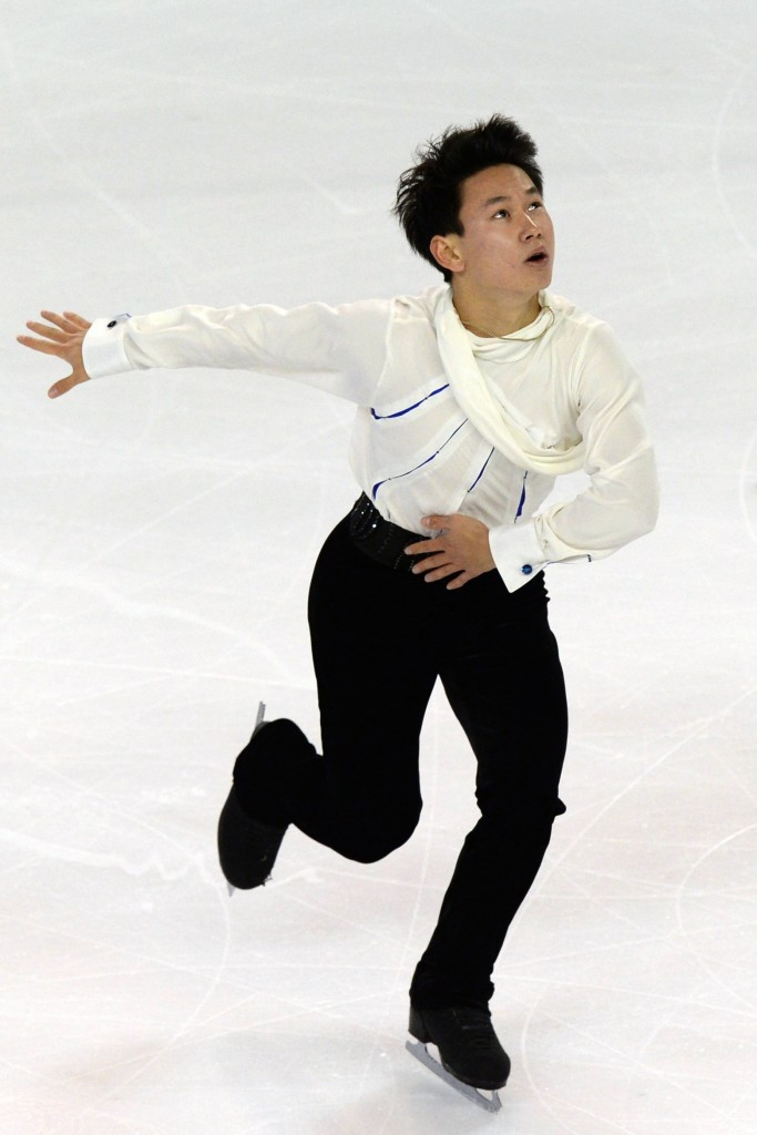 Denis Ten will look to defend his Four Continents title ©Getty Images