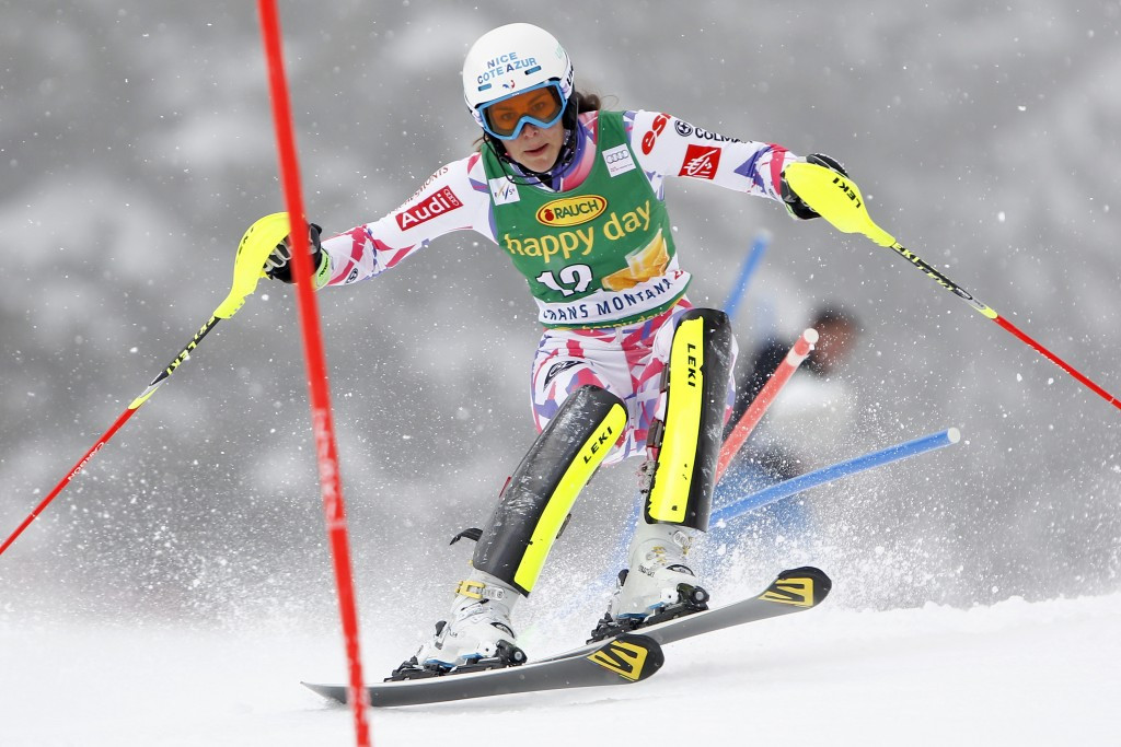 Nastasia Noens did enough for second behind Shiffrin