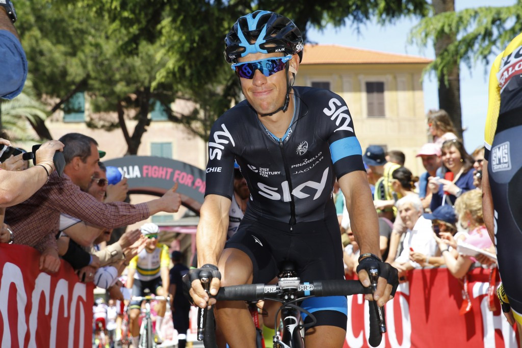 Team Sky's Richie Porte lost further time on Contador after a puncture and was then deducted a further two minutes after receiving non-regulation assistance from fellow Australian Simon Clarke