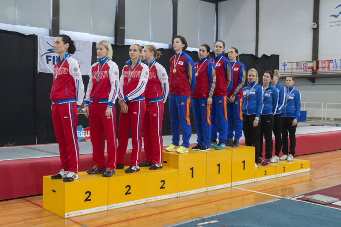Romania claim team gold at women's épée World Cup in Buenos Aires as Rio 2016 qualifiers are decided