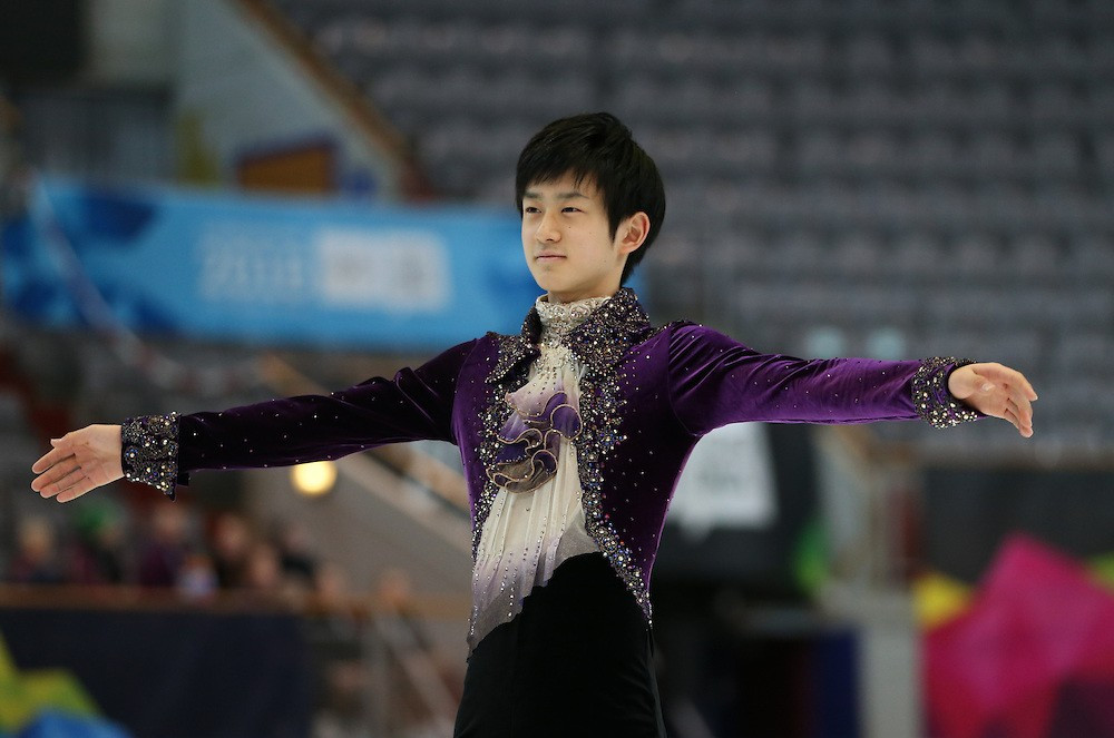 Sota Yamamoto produced a superb display to win the men's free skating competition
