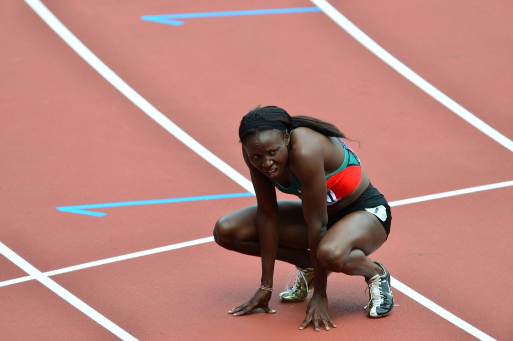 Banned 400 metres runner Joy Sakari is one of the two athletes to claim they were asked for money from the Athletics Kenya chief executive Isaac Mwangi to reduce the length of their suspensions