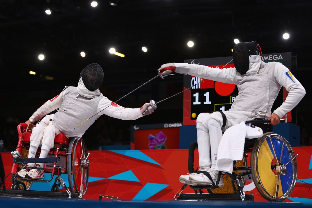 Ukraine's Dimitri Coutya, pictured here competing at London 2012, won two gold medals in Eger