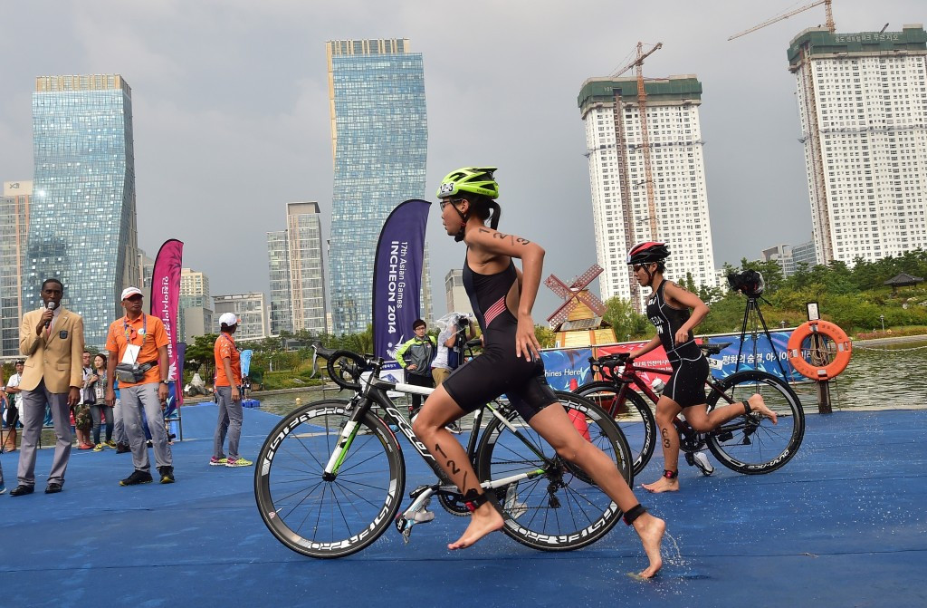 The grant will help to grow triathlon in Asia