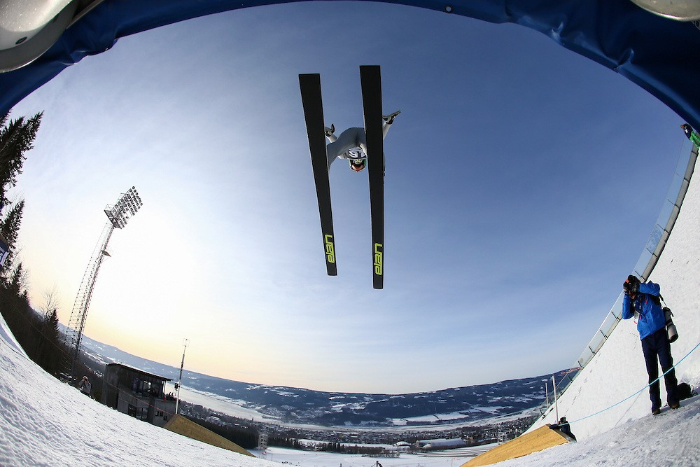 Bor Pavlovcic secured the second ski jumping gold for Slovenia by winning the men's event