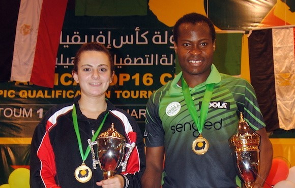 Nigerian and Egyptian qualify for ITTF World Cups with victories at Africa Top 16 Cup