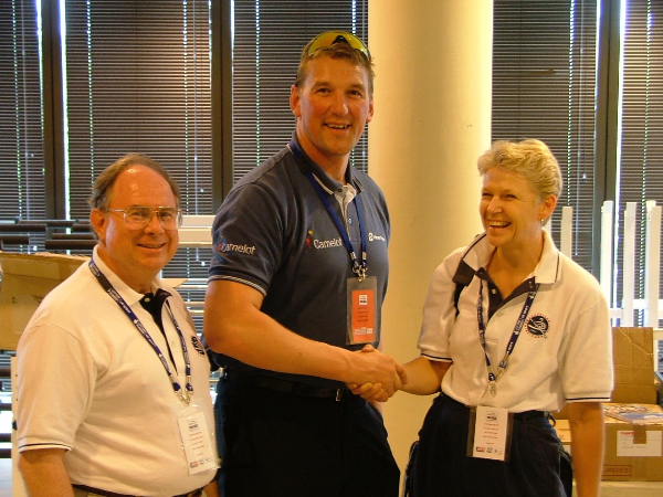Sir Matthew Pinsent will be attending the USRowing Referee Exchange Programme, held during the American Collegiate Rowing Association Championships ©USRowing