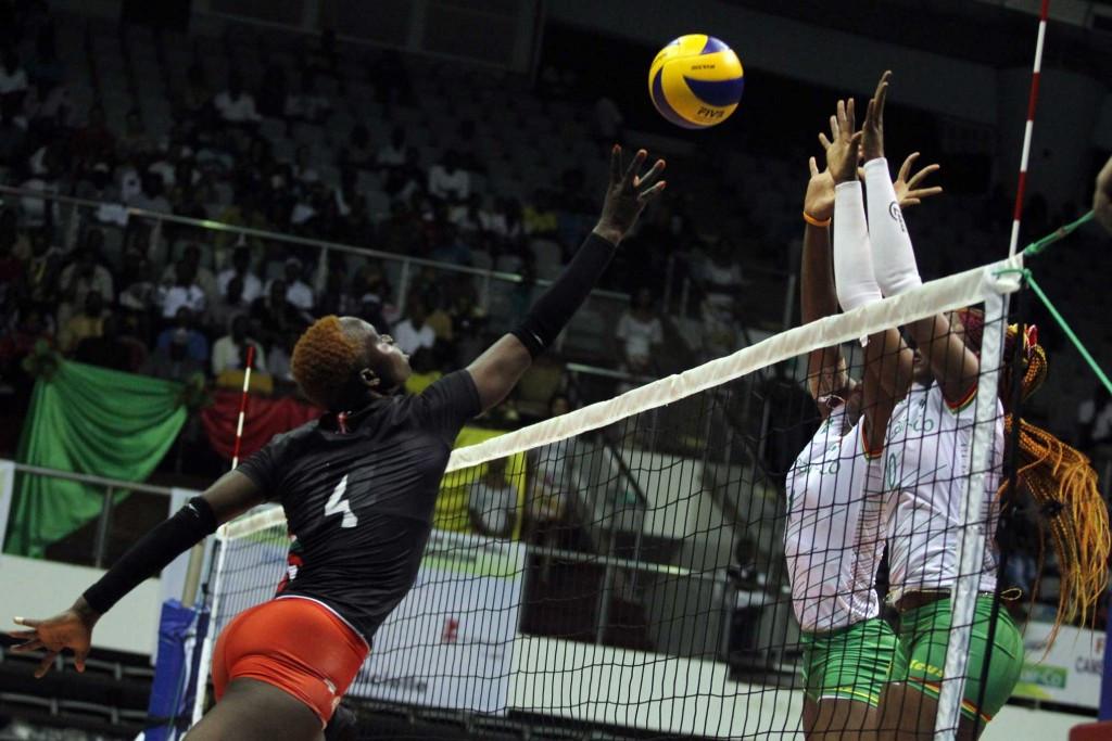 Kenya beat Algeria 3-0 in the bronze medal match