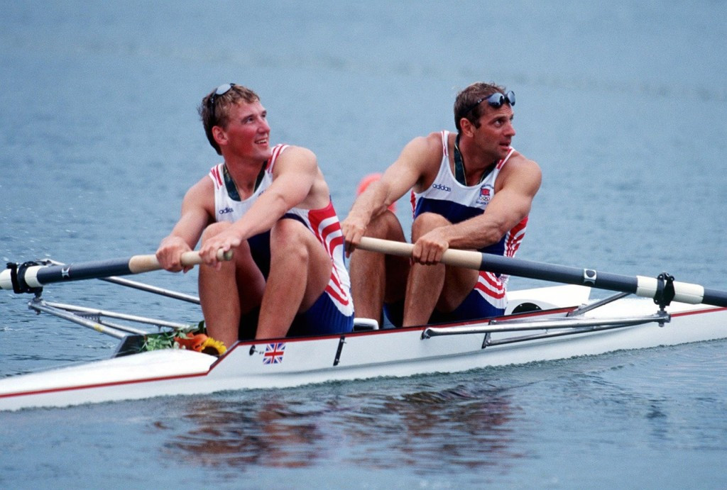 Sir Matthew Pinsent alongside Sir Steve Redgrave claimed Britain's only gold at Atlanta 1996 when they triumphed in the coxless pair on Lake Lainer