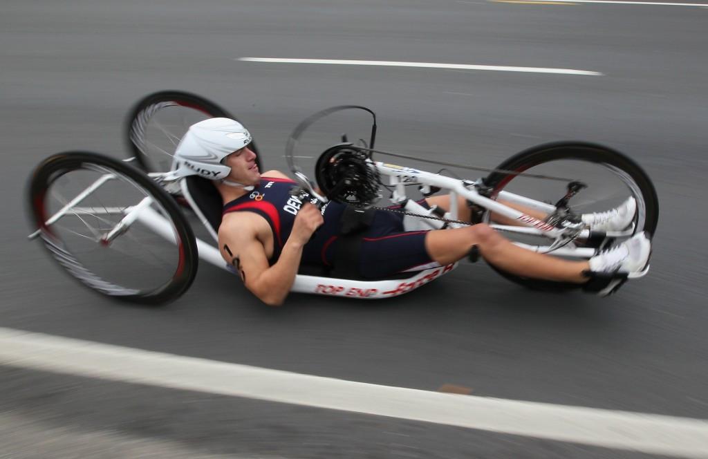 Paratriathlon will make its Paralympic debut at Rio 2016