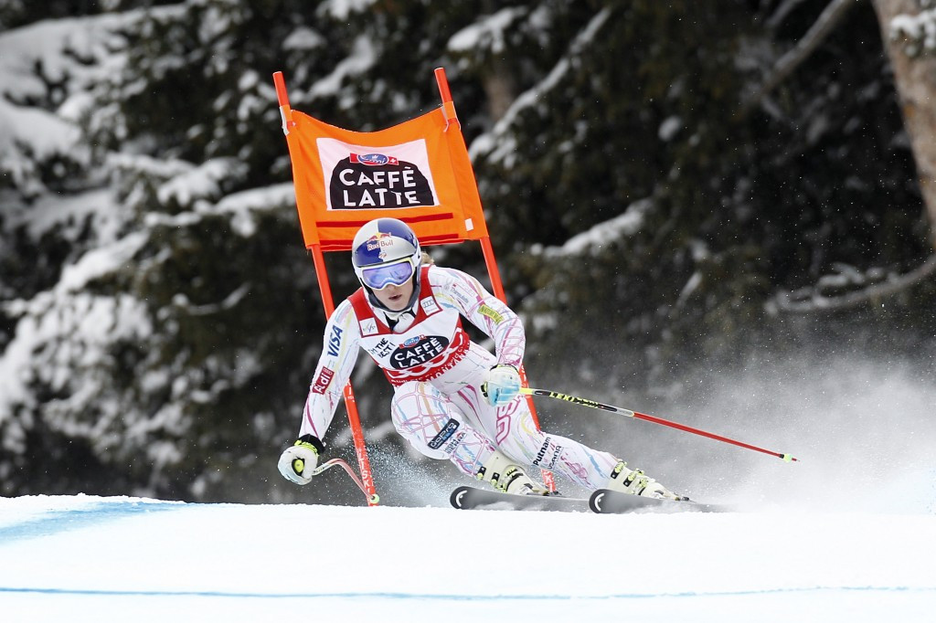 Overall World Cup leader Lindsey Vonn will now race two downhills in La Thuile