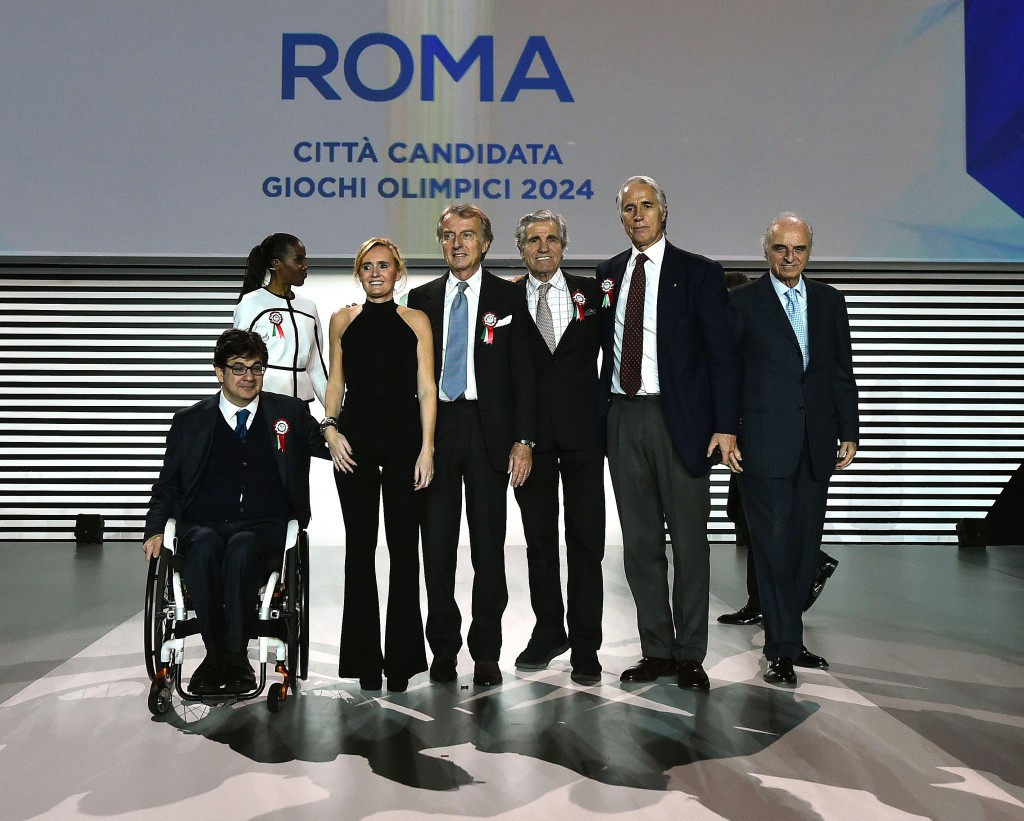 Rome 2024 has proposed a low cost approach to hosting the Olympic and Paralympic Games after submitting the first part of its Candidature File to the International Olympic Committee ©Rome 2024