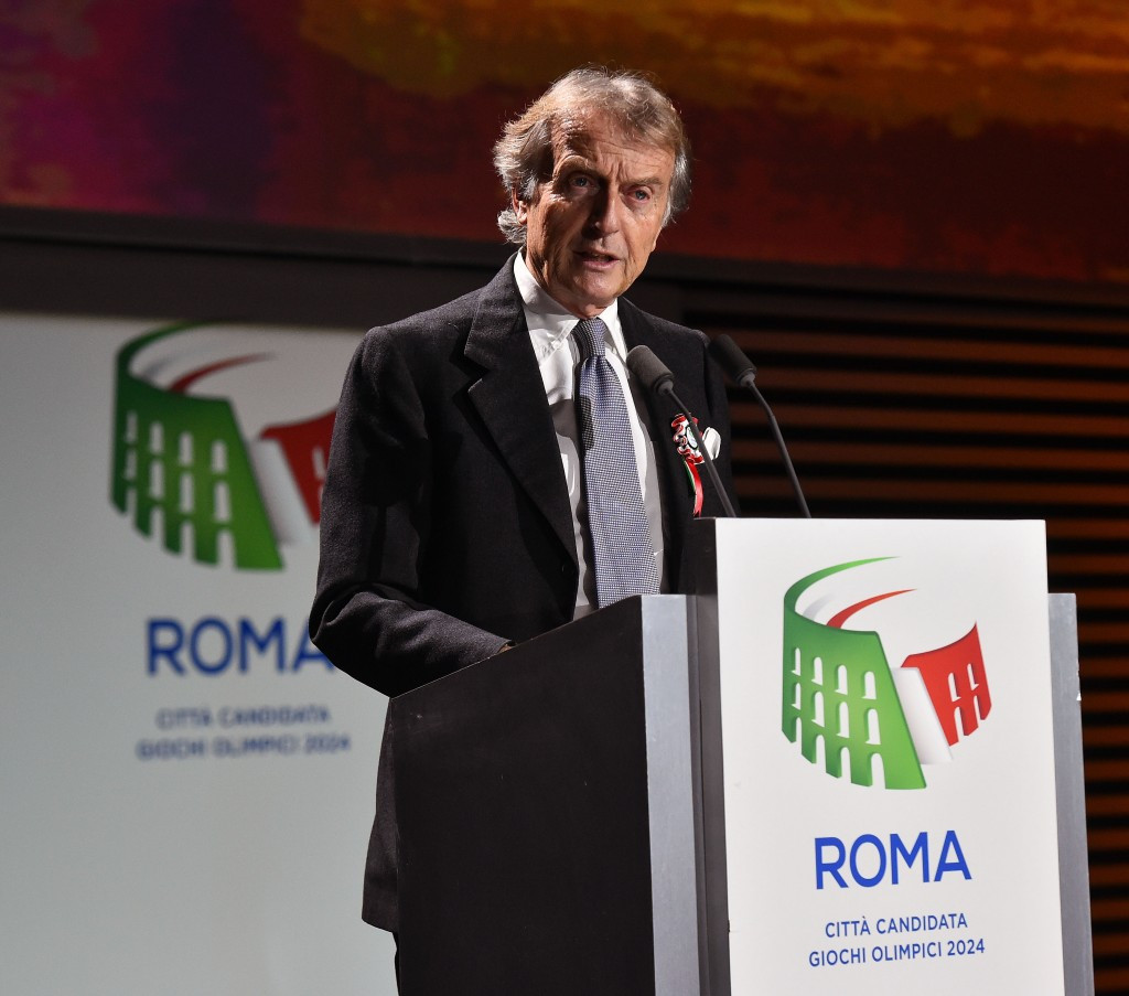 Rome 2024 President Luca Di Montezemolo claims 70 per cent of the facilities required to host events around Rome