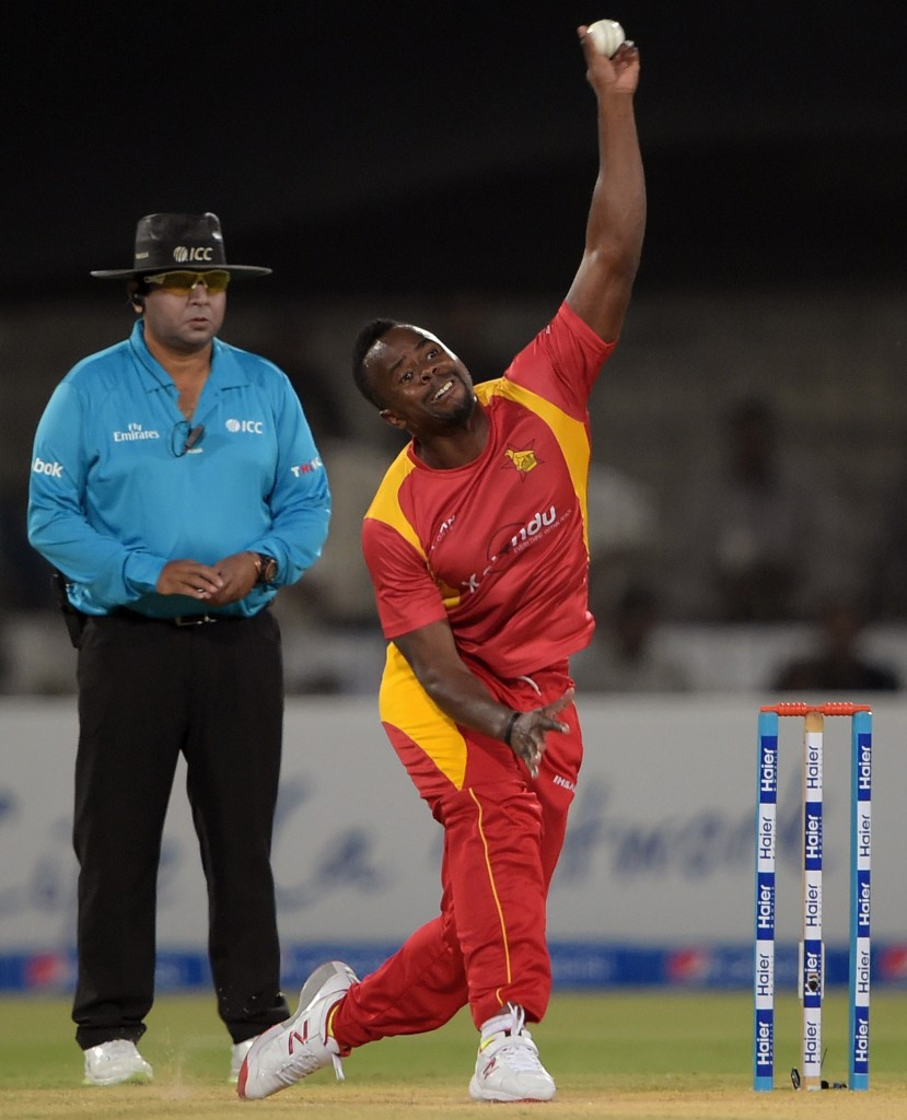 Zimbabwe bowler Vitori banned for illegal action