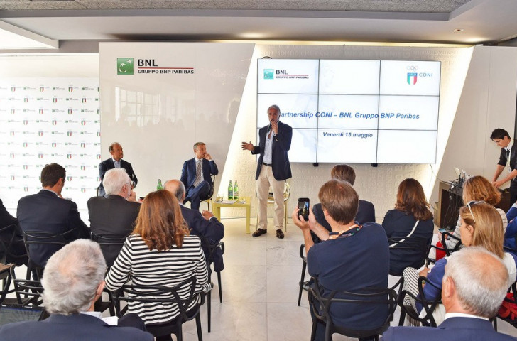 Italian National Olympic Committee announce extension to agreement with BNL Group